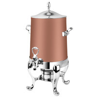 Eastern Tabletop 3113CP Park Avenue 3 Gallon Copper Coated Stainless Steel Coffee Urn with Fuel Holder
