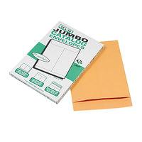 Quality Park 42354 Jumbo Size 14 inch x 18 inch Brown Kraft Fold Flap Seal File Envelope - 25/Box