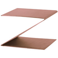 Eastern Tabletop 1201CP 6 inch Copper Coated Stainless Steel Z-Shaped Riser