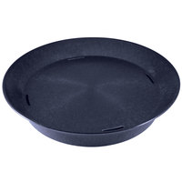 HS Inc. HS1059 14 inch Blueberry Polypropylene Round Deli Server - 24/Case