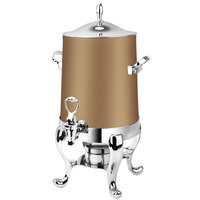 Eastern Tabletop 3113RZ Park Avenue 3 Gallon Bronze Coated Stainless Steel Coffee Urn with Fuel Holder