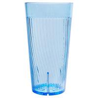 Belize 16 oz. Blue Polycarbonate Plastic Tumbler - 12/Pack