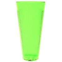 Belize 10 oz. Green Polycarbonate Plastic Tumbler - 12/Pack