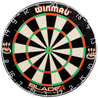DMI Sports WIN500-11 Winmau Blade IV 18 inch x 1 1/2 inch Bristle Dartboard