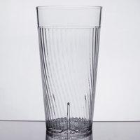 Belize 16 oz. Clear Polycarbonate Plastic Tumbler - 12/Pack