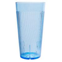 Belize 14 oz. Blue Polycarbonate Plastic Tumbler - 12/Pack