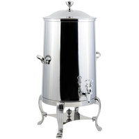 Bon Chef 40003CH-E Aurora 3 Gallon Stainless Steel Electric Coffee Chafer Urn with Chrome Trim