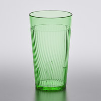 Belize 8 oz. Green Polycarbonate Tumbler - 12/Pack