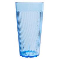 Belize 20 oz. Blue Polycarbonate Plastic Tumbler - 12/Pack