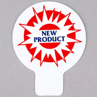 Deli Tag Topper - NEW PRODUCT - Blue and Red