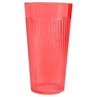 Belize 12 oz. Red Polycarbonate Plastic Tumbler - 12/Pack