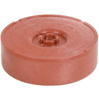 Carlisle 071329 8 inch Polypropylene Terra Cotta Tortilla Server, Lift Off Lid - 12/Case