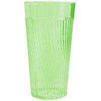 Belize 24 oz. Green Polycarbonate Plastic Tumbler - 12/Pack