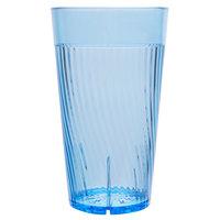 Belize 10 oz. Blue Polycarbonate Plastic Tumbler - 12/Pack