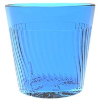 Belize 8 oz. Blue Polycarbonate Plastic Rocks Glass - 12/Pack