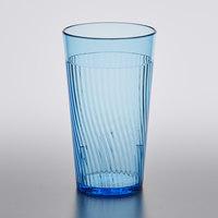 Belize 8 oz. Blue Polycarbonate Tumbler - 12/Pack