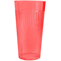 Belize 20 oz. Red Polycarbonate Plastic Tumbler - 12/Pack