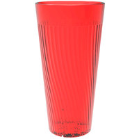Belize 24 oz. Red Polycarbonate Plastic Tumbler - 12/Pack