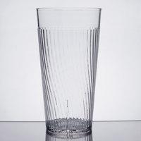 Belize 24 oz. Clear Polycarbonate Plastic Tumbler - 12/Pack