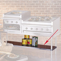 Bakers Pride 21840846 Ultimate Outdoor Charbroiler Stainless Steel Under Shelf