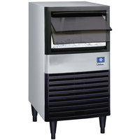 Manitowoc QM-45A 19 3/4 inch Air Cooled Undercounter Full Size Cube Ice Machine with 30 lb. Bin - 95 lb.