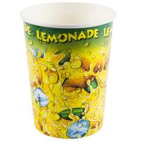 32 oz. Squat Lemonade Ice Paper Cup - 480/Case