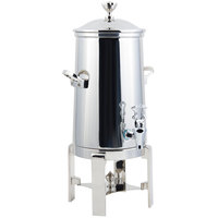 Bon Chef 42001C Contemporary 1.5 Gallon Insulated Stainless Steel Coffee Chafer Urn with Chrome Trim