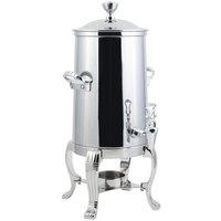 Bon Chef 41005C Aurora 5.5 Gallon Stainless Steel Coffee Chafer Urn with Chrome Trim