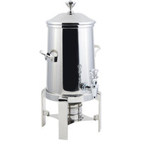 Bon Chef 42101C Contemporary 2 Gallon Stainless Steel Coffee Chafer Urn with Chrome Trim