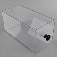 Cal-Mil 813-96DRAWER Acrylic Drawer for Midnight Bamboo Bread Case
