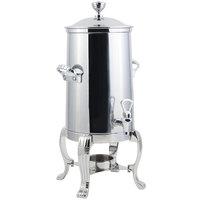 Bon Chef 41001-1C Aurora 2 Gallon Stainless Steel Coffee Chafer Urn with Chrome Trim