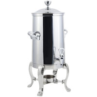 Bon Chef 41003-1C Aurora 3.5 Gallon Stainless Steel Coffee Chafer Urn with Chrome Trim