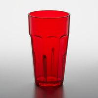 GET 9920-1-R Bahama 20 oz. Red Customizable SAN Plastic Tumbler - 72/Case