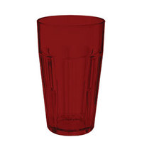 GET 9920-1-R 20 oz. Red Break-Resistant Plastic Bahama Tumbler - 72 / Case