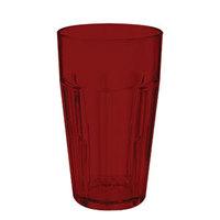 GET 9920-1-R Bahama 20 oz. Red Break-Resistant Plastic Tumbler - 72/Case