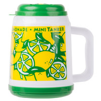 32 oz. The Tanker Lemonade Cup with Straw and Lid - 24/Case