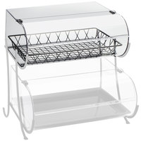 Cal-Mil C1281B Clear Acrylic Bin for Pastry Display