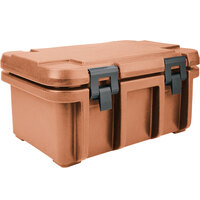 Cambro UPC180157 Coffee Beige Camcarrier Ultra Pan Carrier - Top Load for 12 inch x 20 inch Food Pan