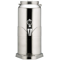 Bon Chef 40510 2.25 Gallon Stainless Steel Milk Can Beverage Dispenser