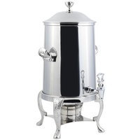 Bon Chef 47105C Renaissance 5.5 Gallon Stainless Steel Coffee Chafer Urn with Chrome Trim