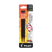 Pilot 77245 Black Ink Fine Point Roller Ball Retractable Gel Pen Refill - 2/Pack