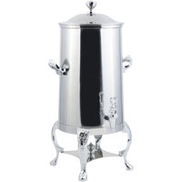 Bon Chef 47001C Renaissance 1.5 Gallon Insulated Stainless Steel Coffee Chafer Urn with Chrome Trim