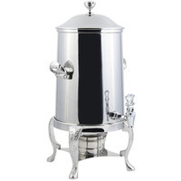 Bon Chef 47101C Renaissance 2 Gallon Stainless Steel Coffee Chafer Urn with Chrome Trim