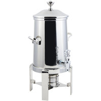 Bon Chef 42103C Contemporary 3.5 Gallon Stainless Steel Coffee Chafer Urn with Chrome Trim