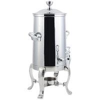 Bon Chef 41003C Aurora 3.5 Gallon Stainless Steel Coffee Chafer Urn with Chrome Trim