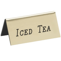 Cal-Mil 228-5-011 Gold Iced Tea Beverage Tent