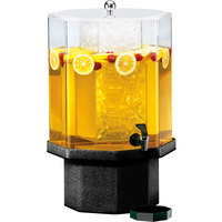 Cal-Mil 972-5-17 Classic 5 Gallon Beverage Dispenser with Granite Charcoal Base and Ice Chamber