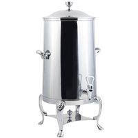 Bon Chef 48003-1C Lion 3 Gallon Insulated Stainless Steel Coffee Chafer Urn with Chrome Trim