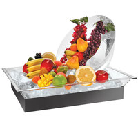 Cal-Mil 986-12 28 1/2 inch x 20 1/2 inch x 5 1/2 inch Ice Housing System with Clear Ice Pan, Drainage Hose, and LED Light