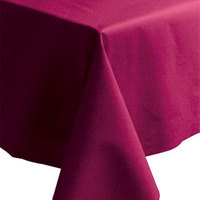 Hoffmaster 220832 50 inch x 108 inch Linen-Like Wine Table Cover - 20/Case